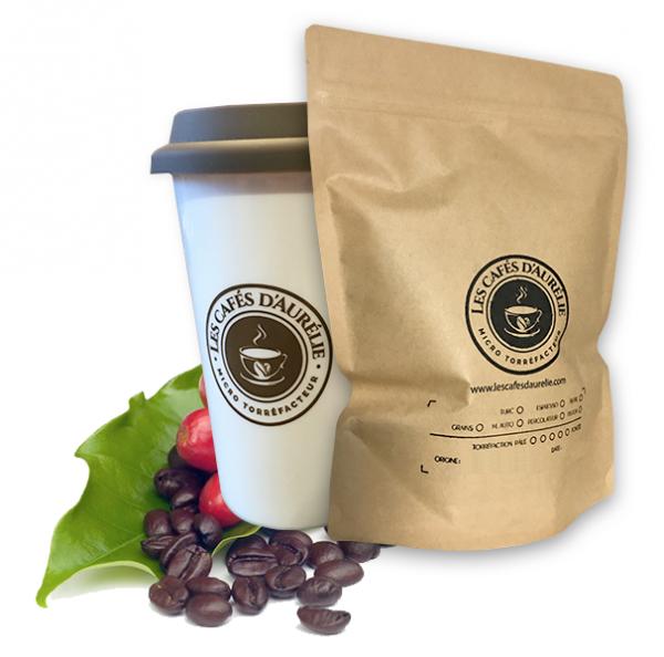 Les cafés d'Aurélie - Costa Rica Équitable bio