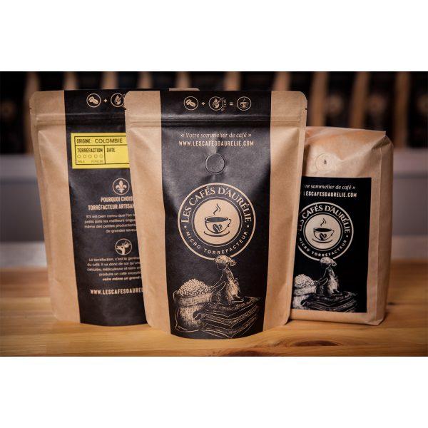 Les cafés d'Aurélie Colombien